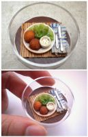 Potato Knoedels with Salad by vesssper