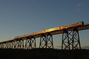 Crossing Moodna Viaduct by RichRmg