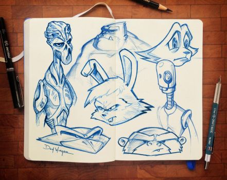 CharacterSketches-07 by WingerDesign