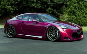 Toyota FT86 Concept '09 by HAYW1R3