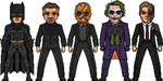 Batman and his Villains by MicroManED