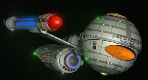 Daedalus Class Retrofit by enterprisedavid