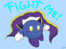 Fight me by Evomanaphy