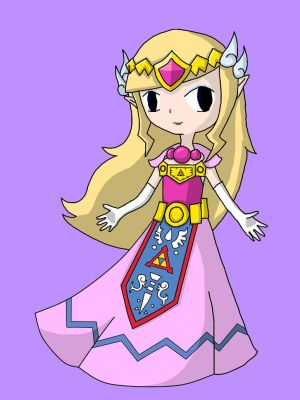 Toon Zelda Re-Draw by AnimeGang