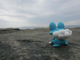 Froakie Tourist by RicePoison