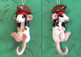 Pirate Rat by DragonsAndBeasties