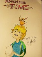 Adventure Time With My Two Fav Bros, Finn and Jake by MisterVP