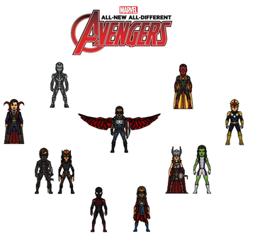 Avengers all new all different by doctorstrange7