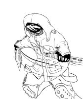 the jager lineart.JPG (you can color it for free) by sissadDS