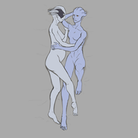 Aethyta and Benezia - WiP by I-Anon