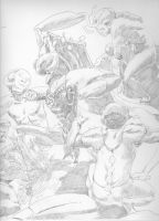 The Region, cover underdrawing by MichaelCleaves