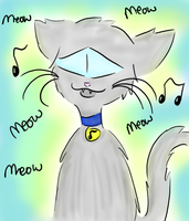 Jazz the singing Cat by Kittylover9399