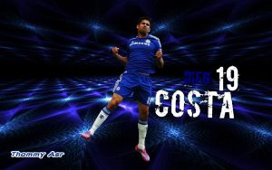 Diego...Costa by Thommy Asr by Cristianoronaldoross