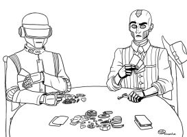 Game Night Lines by Illusionation