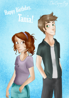 Happy Birthday, Tania!! by TheCarmiBug