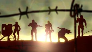 Band of Guardsmen ::Warhammer 40k:: by guywiththesuitcase