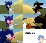Ivan loves Sonic's big belly comic by SonicInflationLover