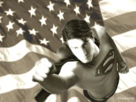 Brandon Routh Superman by TheRealImp