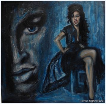 tribute to AMY WINEHOUSE by karenw21