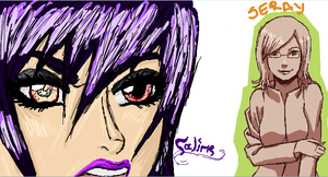 Iscribble with Aleksandra 1 by Yaroumme