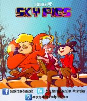 SKY PIGS - Cool Canada by Cameron-Ohara