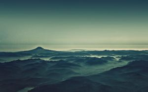 Foggy Mountains by Steeben360