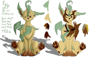 Actually Physis could work as a Leafeon by Ysulyan