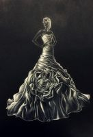Fashion_art_Wedding dress by tanya250