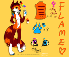 Flame ref 2012 -CURRENT- by Liara-Chan