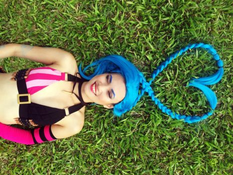 Jinx the Loose Cannon by lynplicity