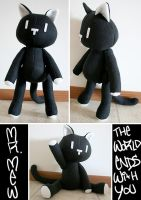 Mr. Mew Plushie 2 by HezaChan