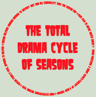 The Total Drama Cycle of Seasons by SEGASister