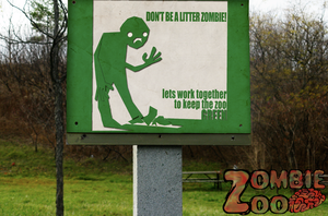dont be a litter zombie by bodysnatched