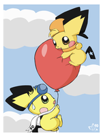 Don't pop that balloon by pichu90