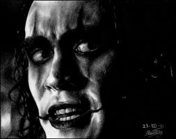 Brandon Lee -THE CROW- by ladarkfemme