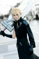 Cloud Strife by sh7nn
