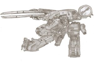 Metal Gear REX by ChocolateBiscuits