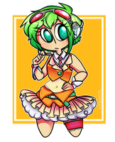 megpoid gumi by ticktockhop