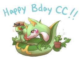 HBD CACTUSSSSS! by chibiphlosion