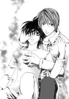 Death Note : Light x L by syriac