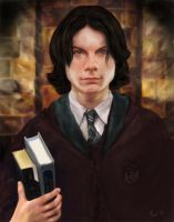 Slytherin Student by hever