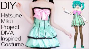 DIY Hatsune Miku Colorful Drop Cosplay Costume by YumiKing