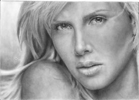 Charlize Theron Finished by Artworkbymw