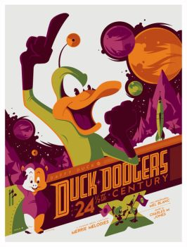 mondo: duck dodgers by strongstuff