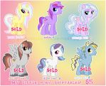 MLP MIX ADOPTABLES set 2 by DisfiguredStick