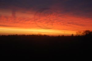 Red sky in the moring by Moonstarphotos