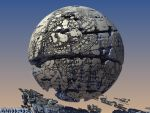Shattered Sphere by HalTenny
