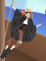 Me as a pirate by Midnight--Comet