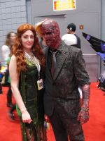 Poison Ivy and Two Face by Cujo-Escariot