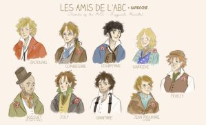 Les Amis de l'ABC (and Gavroche) by xxIgnisxx